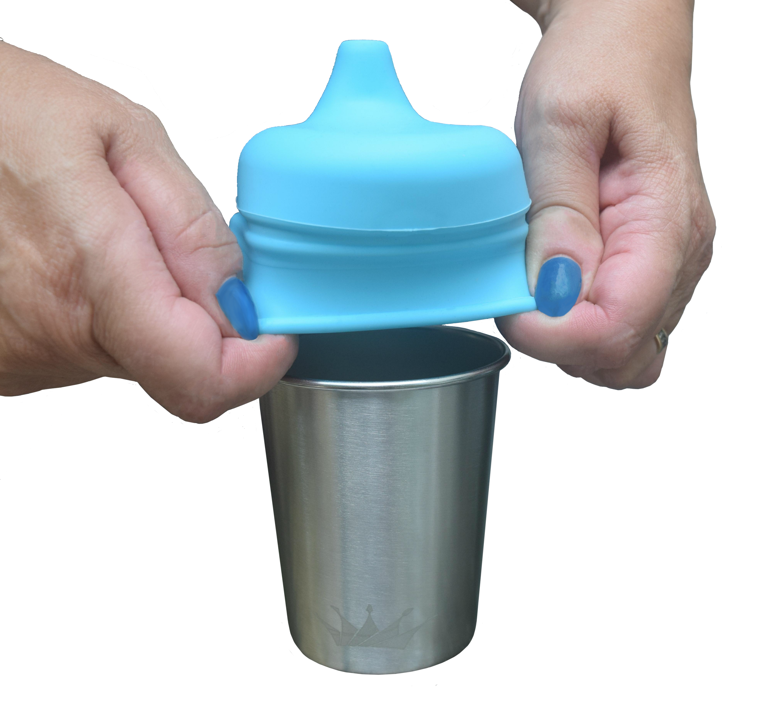 Stainless steel sippy cup